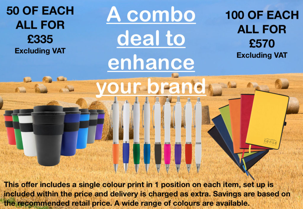 A combo deal to enhance your brand